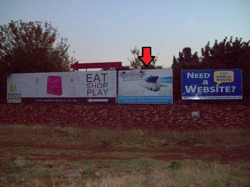Centurion 6 Pretoria Billboard Advertising