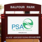 Balfour Park Johannesburg Billboard Advertising