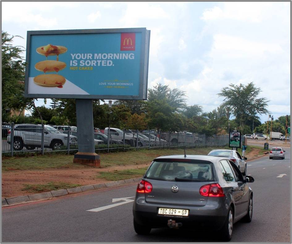 Kolannade Mall Pretoria Bilboard Advertising 1