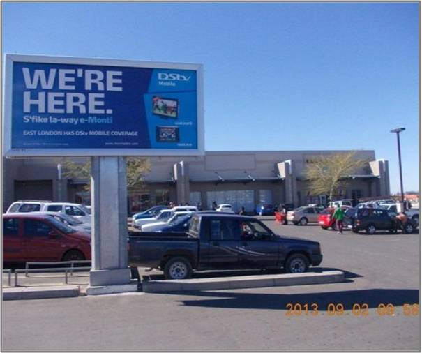 Mdantsane Mall 4 Billboard Advertising