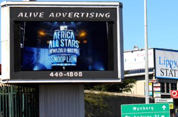 Grayston Sandton Johannesburg Billboard Advertising