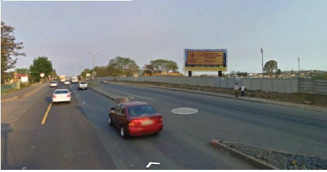 Nelson Mandela Drive 1 Mthatha billboard advertising