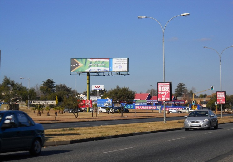 Roodepoort 2 Johannesburg Billboard Advertising