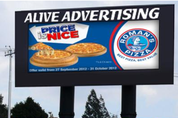 Roodepoort Johannesburg Billboard Advertising