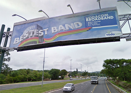 Nelspruit Billboards - R40 Gantry Towards Barberton
