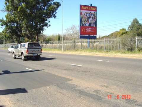 Schoeman Street Hatfield Pretoria Billboard Advertising